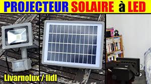 Projecteur Solaire Led Livarnolux Lidl Led Solar Spotlight Led