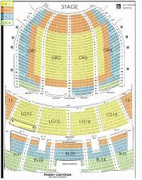 Broken Arrow Stadium Seating Chart 48 Prototypical Uihlein Hall Marcus Center Seating Chart