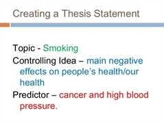 cause and effect of smoking essay effects of smoking papers