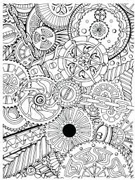 New Anti Stress Coloring Pages Printable Or Creative Therapy An Anti