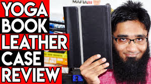 lenovo yoga book 10 1 leather case sleeve review unboxing best yoga book case in the world 4k