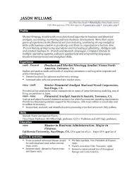 Examples Of Best Resumes Sample Of Best Resume Format Sample Resumes