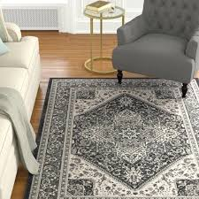 charcoal gray rug dark grey runner grand picl area