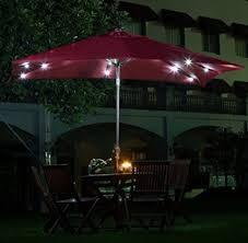 executive rectangular patio umbrellas with solar lights b81d in most creative home design ideas with rectangular patio umbrellas with solar lights