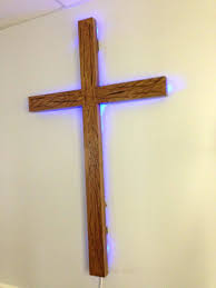 awesome large wooden cross wall decor 7