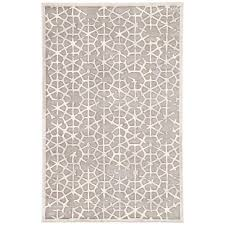 jaipur living fables gray 2 ft x 3 ft geometric rectangle accent rug