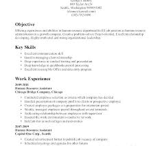 What Is Objective On A Resume Objective Resume Sample Human Resources Objective For Resume