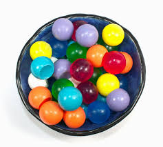 Decorative Marble Balls Soap Spheres set of 100 marbles balls circles gumballs 92