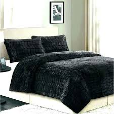 king size faux fur bedding king size faux fur comforter fleece duvet covers queen cover