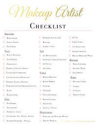 wedding makeup kit checklist saubhaya