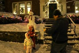 three years in providence and counting or the pros and cons of making a snowman this winter at home in providence
