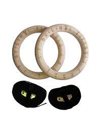 Кольца гимнастические 23,5 см <b>Original FitTools</b> 5207684 в ...