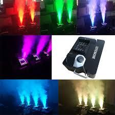 halloween lighting effects machine. Powerful 1500W DMX Led Smoke Machine With Wireless Remote LED Upword Spray Effects For Party Halloween Lighting