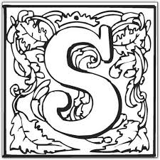 Small Picture Fancy Letters Coloring Pages GetColoringPagescom