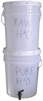 homemade water purifier. Homemade Bucket Water Filter And Purifier