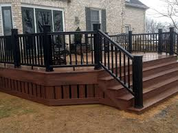 metal handrails for deck stairs. solid deck rails - google search metal handrails for stairs
