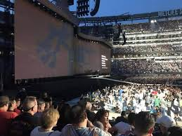 U2 Metlife Seating Chart Metlife Stadium Section 142 Row 9 Seat 6 U2 Tour The