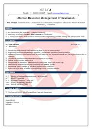fresher resume format in usa hr fresher sample resumes download resume format templates