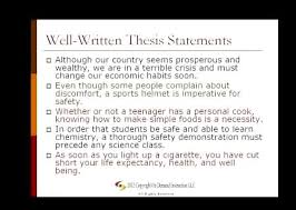 Thesis Statements   My Anchor Charts   Pinterest   School  English