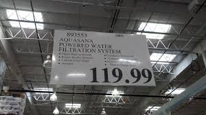 costco water filter. Aquasana Powered Water Filtration System Deal At Costco Filter S