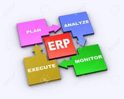 Erp Chart Stock Illustration