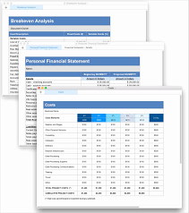 Spreadsheet For Business Plan And Business Plan Template