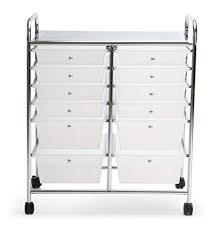 office rolling cart. Finnhomy 12 Drawer Rolling Cart Organizer,Storage With Drawers,  Utility For School Office Rolling Cart E