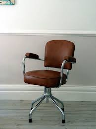 vintage office chair. 1960u0027s french vintage leather office chair by ormstonsaintuk 57000 c