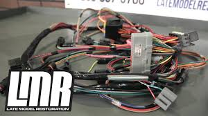 mustang wiring harnesses engine conversion & restoration harnesses 1968 Mustang Dash Wiring Diagram at Complete Wiring Harness 68 Mustang