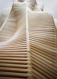 architect piotr zuraw has designed a bench named uiliuili as part of the wroclaw city furniture project the bench was constructed by the university of architect furniture