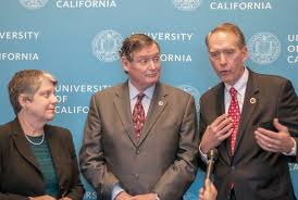 uc regents increase tuition university of california president janet napolitano california state university chancellor timothy p white and