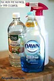 borax and vinegar how to clean glass shower doors with vinegar and dawn borax and vinegar
