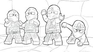 Coloring Pages Lego Ninjago Movie Sheets Lloyd Pictures