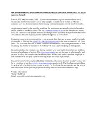 Cio Cover Letter Executiveresumewriters Org Increases The Number Of Executive