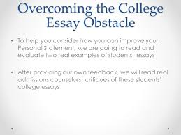 th grade icap goal setting overview review importance of  20 overcoming the college essay obstacle