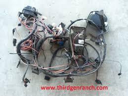 camaro dash wiring harness thirdgen ranch 82 89 camaro dash wiring harness