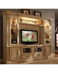 white tv entertainment center. McFerran E8200 Antique White Tv Entertainment Center Wall Unit O