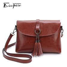 New Arrival Genuine Leather <b>Female</b> Shoulder <b>Bag</b> Tassel <b>Women</b> ...