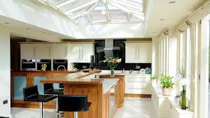 Extensions Kitchen Glazed Kitchen Extensions In Oak Hardwood David Salisbury