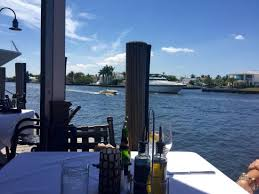 The Best Waterfront Table In Fort Lauderdale Picture Of