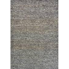 ground work rugs charcoal choti hand made wool blend rug