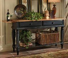black sofa table. Pulaski - Buffet Tables \u0026 Sideboards 662303 Bask In The Warmth Of Your  Company Black Sofa Table