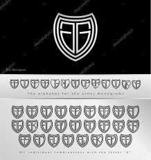 Disegno Monogramma Con Lettera G Vettoriali Stock Kubanek 42406479