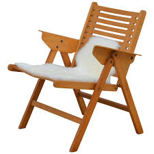Iconic Modern Furniture Iconic Vintage Folding Rex Lounge Chair By Niko Kralj For Sale At