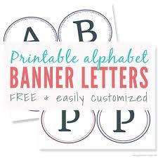 Letter For Banner Large Printable Letters For Banners 2018 Letter Banner Letters
