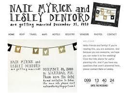 Diy Wedding Website Using Blogger