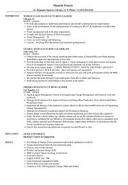 Manufacturing Engineer Resume Http Jobresumesample Com 804 ...