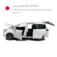 rian day 1 32 scale car model toys honda odyssey mpv sound light cast metal car