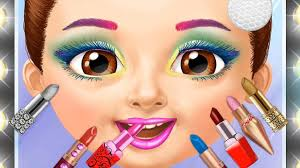 sweet baby s emma play fun makeover games hair salon dress up makeup nails color games for kids