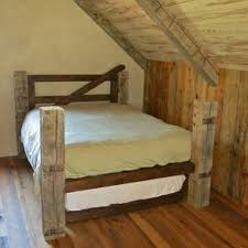 Hand Made Cherry Queen Size Pencil Post Bedframe Bed By Edward ...